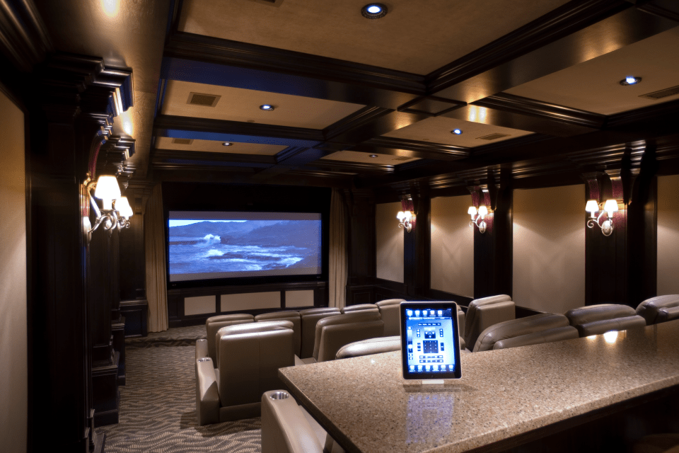 Miami Theater Room